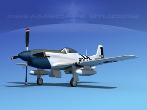 dwg mustang cockpit p-51d