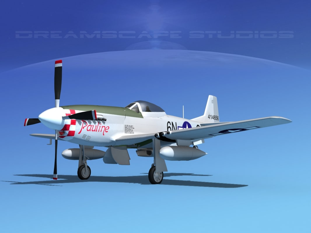 dxf mustang cockpit p-51d