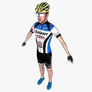 max racing cyclist