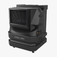3d cooling unit model