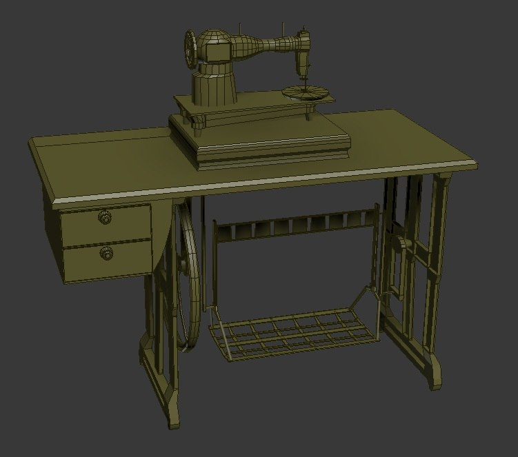 sewing machine 3d x