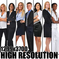 Seven HD Business People Collection