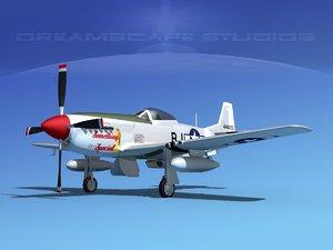 3ds mustang cockpit p-51d