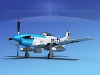 North American P-51D Strawboss