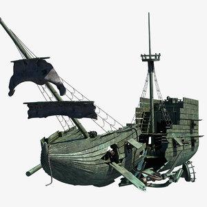 max wrecked ship