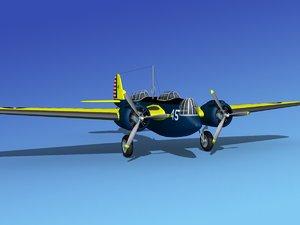 propellers martin b-10 bomber ma