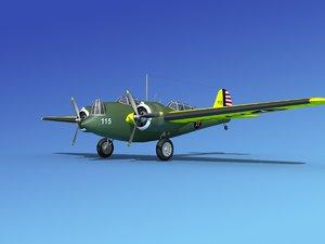 propellers martin b-10 bomber lwo