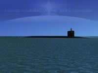 3d missile ohio class submarines