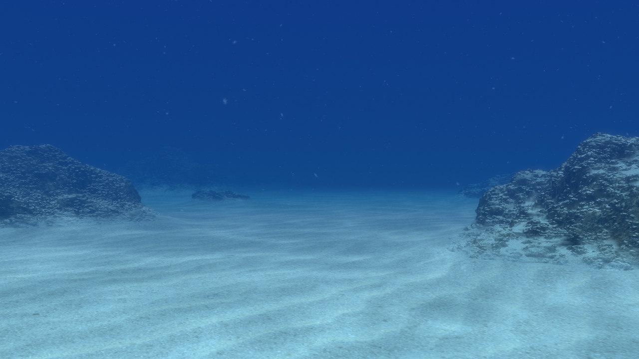 max photorealistic water scene