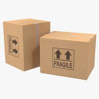 Cardboard Box 3