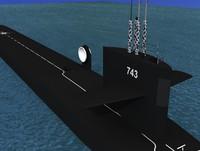 Ohio Class USS Louisiana SSBN-743