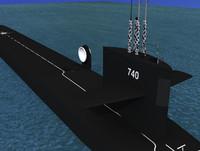 3ds missile ohio class submarines