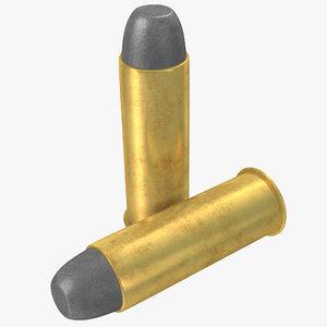 44 cartridge 3d c4d