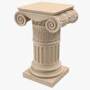 pedestal top 3D models