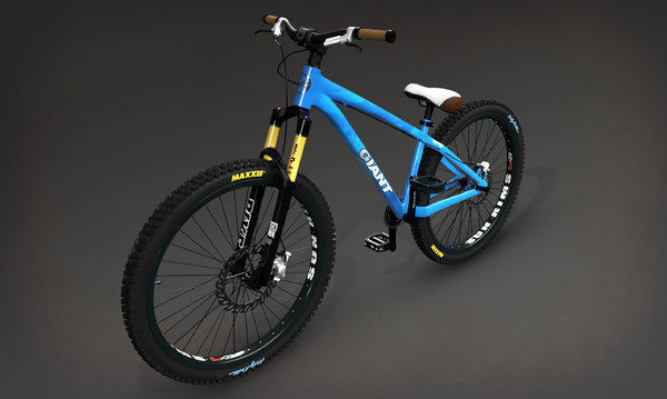 3d model giant stp bike