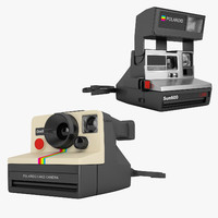 3d polaroid camera model