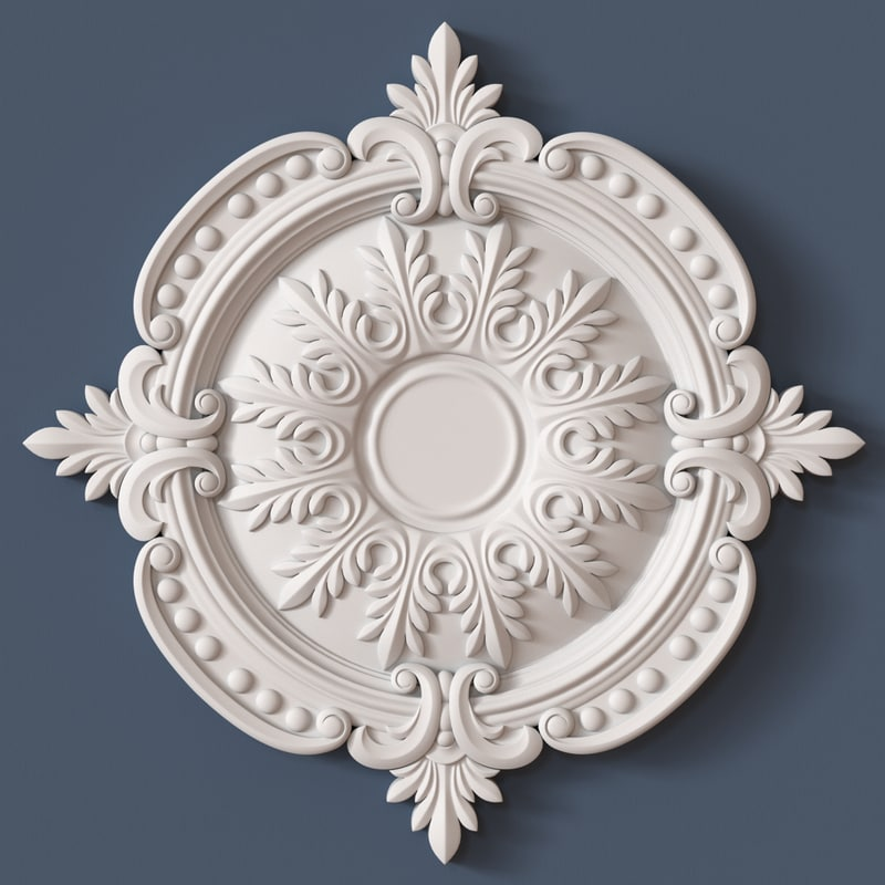 3d ceiling medallion