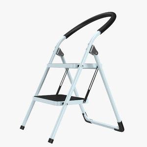 3d step ladder 3
