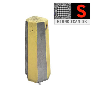 concrete barrier scan 8k max