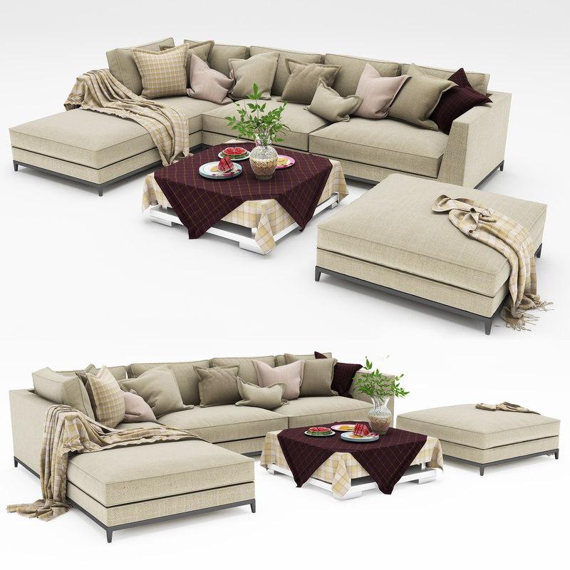 sofa 10 3d model
