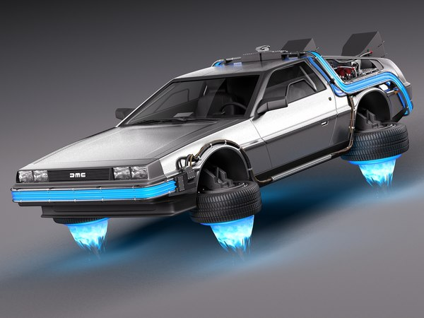 future delorean episode 3d max