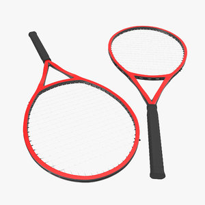 tennis racket generic 3d model