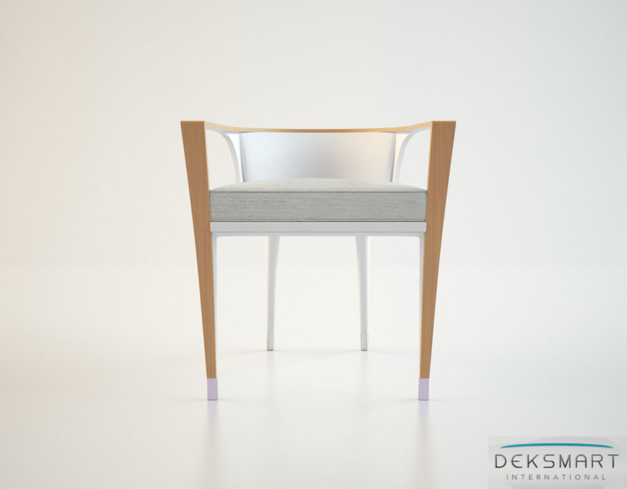 deksmart international gosling dining chair 3d model