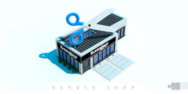 obj hairdressing barber shop