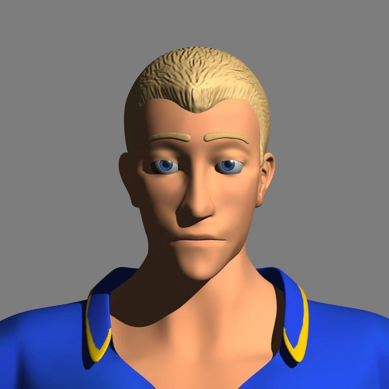 3d model adam prince