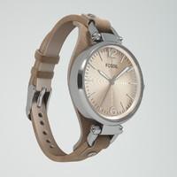 fossil georgia 3d max