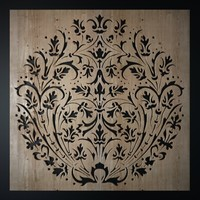3dsmax decorative laser cutting pattern
