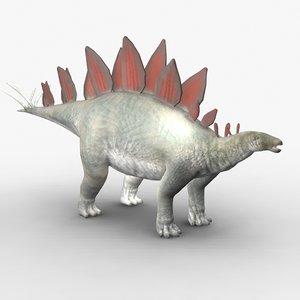 stegosaurus obj
