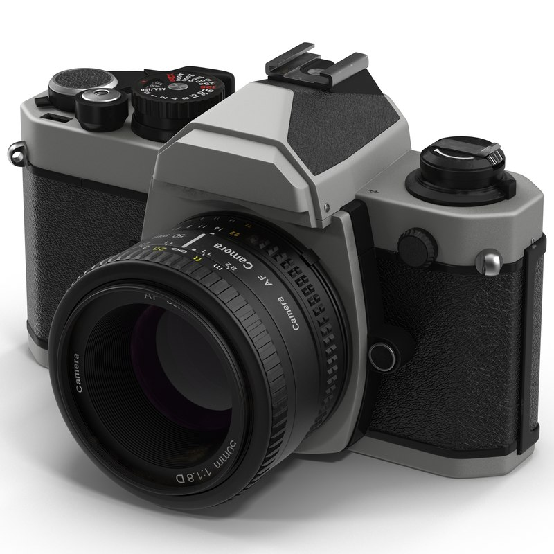 35 mm film camera 3d obj