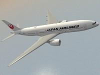 Boeing 777-200 ER Japan Airlines