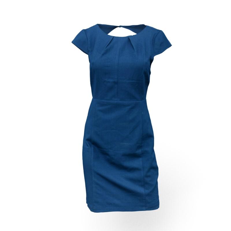 obj blue dress