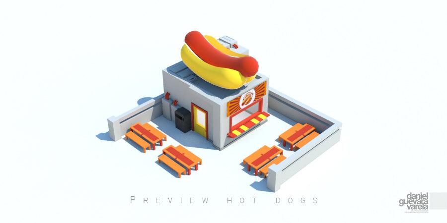 x hot dog