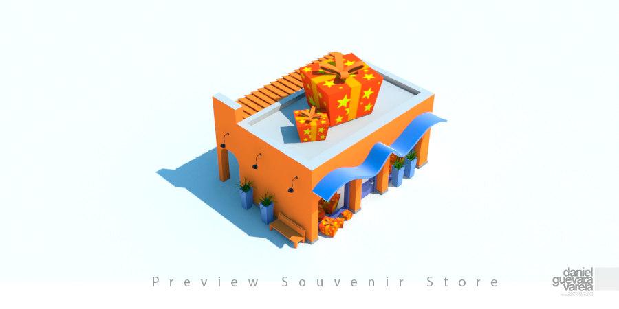 shop souvenir fbx