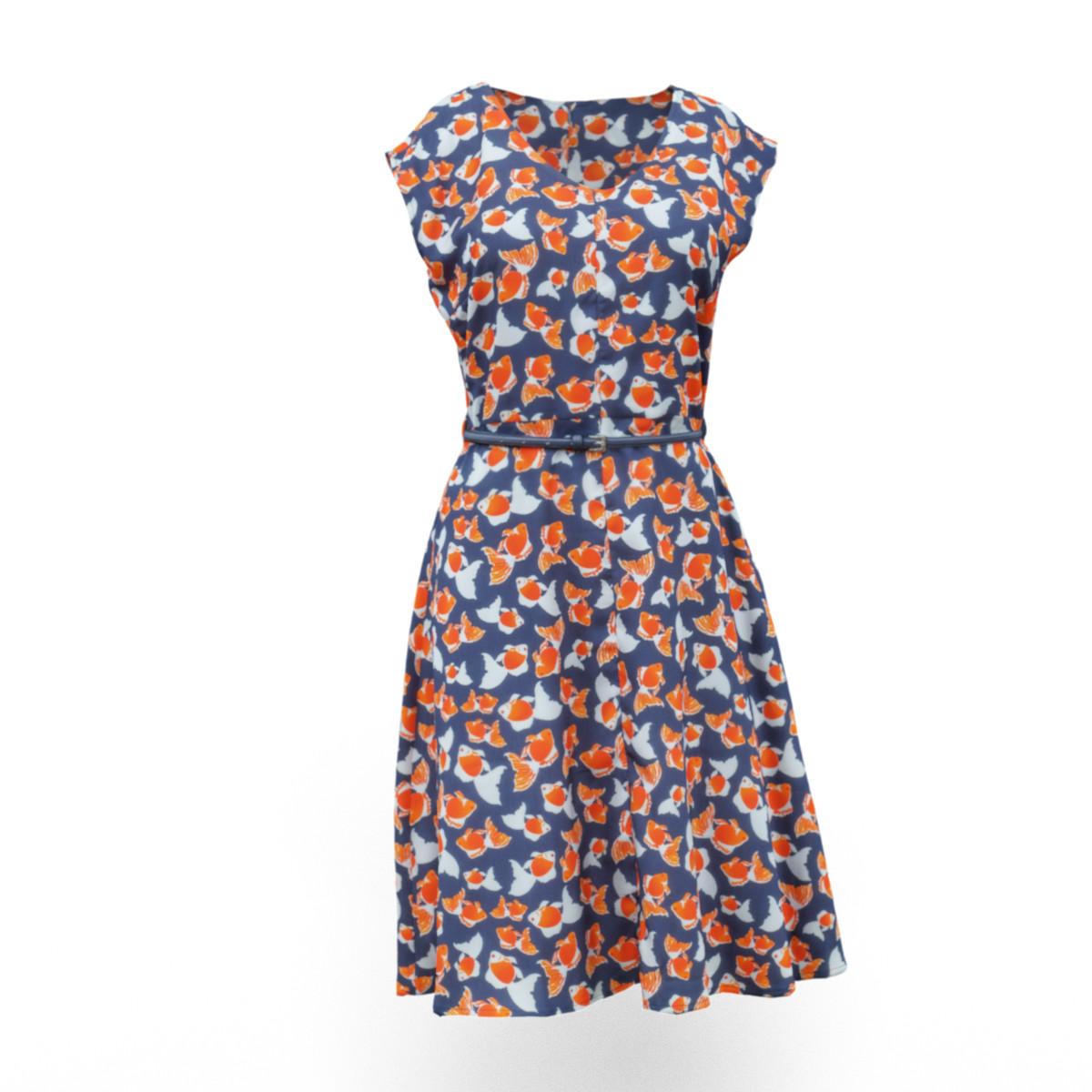 dress 3d obj