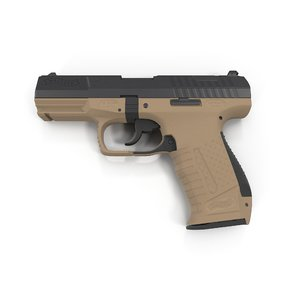 3d walther p99 pistol