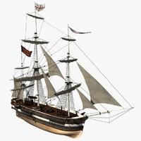 c4d bomb ship