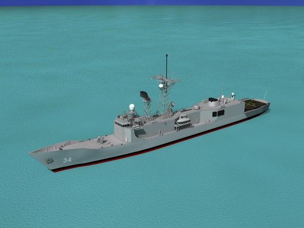 perry class frigate max