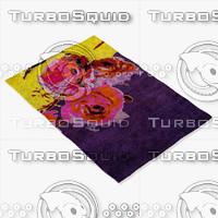 3dsmax roche bobois rug bouquet