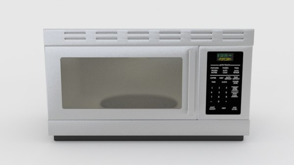 microwave 3d 3ds