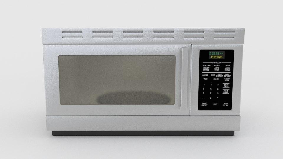 microwave 3d 3ds