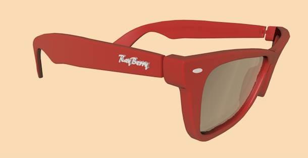 3d model sunglasses ray-ban sun