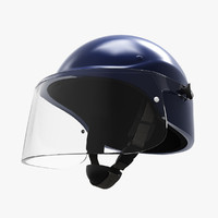 3dsmax riot helmet