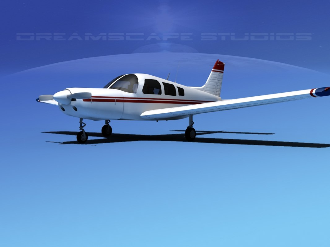 3d model propeller piper warrior ii