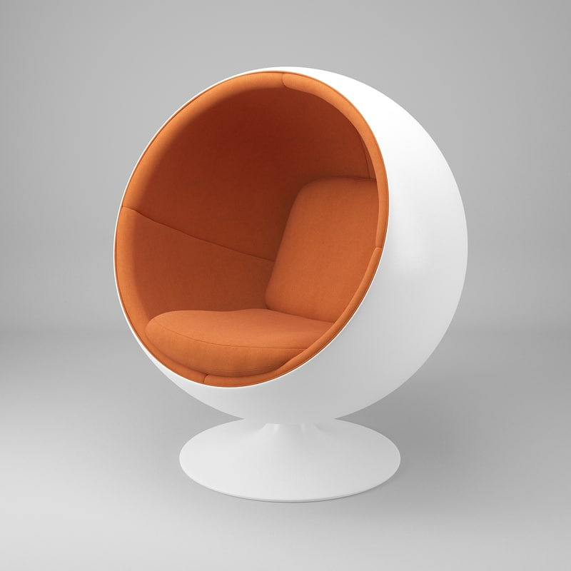 ball chair furniture eero aarnio 3d max