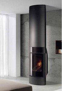 3d wall wood stove