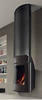 3d wall wood stove